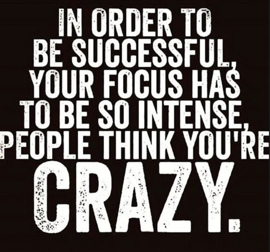 Why Are Successful People Considered Crazy?