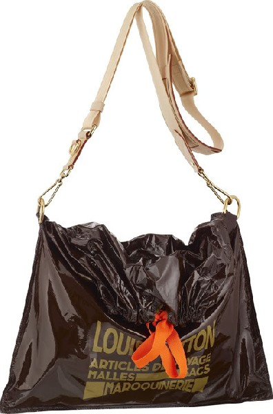louis vuitton just throw it in the trash bag spring 2010