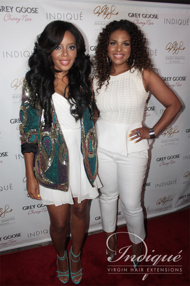 Indique virgin hair extensions by angela simmons bikini collection to me hair is a statement and an extension of your wardrobe and ive always been drawn to fashion and being able to change up my look said angela pmusecretfo Image collections