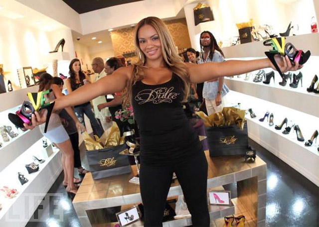 Where Is Evelyn Lozada Shoe Store