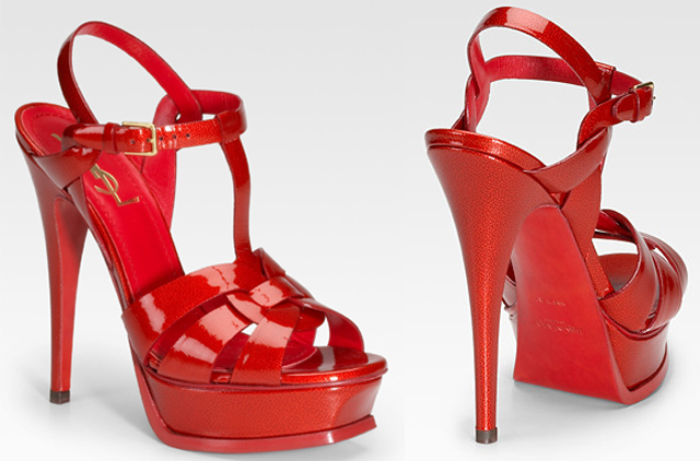 Christian Louboutin Gets Possessive Over Red Bottoms Takes YSL to ...