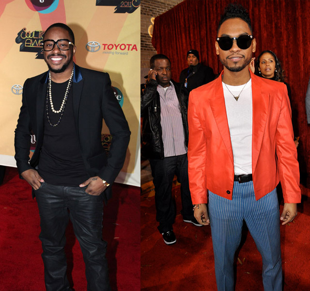 Your Poison: Men On The Red Carpet at Soul Train Music Awards 2011