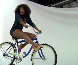 Behind The Scenes Sneak Peak of Lisa Raye's Rolling Out Cover Shoot