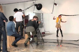 Behind The Scenes: Willow Smith London Sunday Times Photoshoot