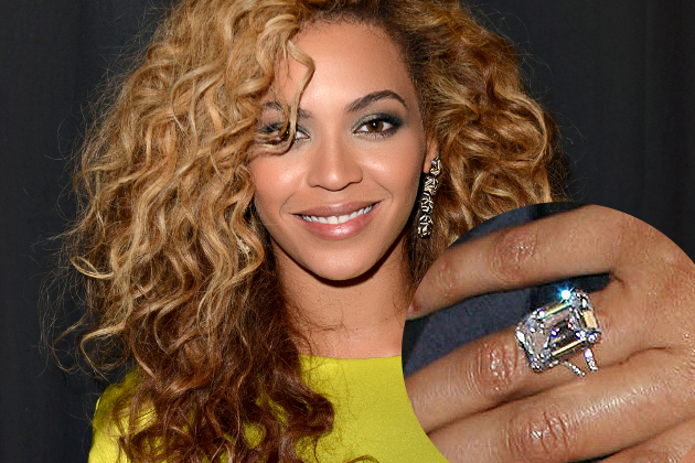 beyonce most expensive celeb wedding rings - Beyonce Wedding Ring
