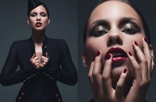 celeb-style-alicia-keys-gets-military-glam-for-june-2011-w-magazine