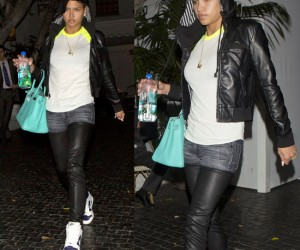 Celeb Style: Cassie, Rihanna, Rocsi and More Rock R13 Denim Leather