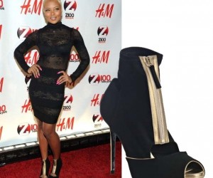 Celeb Style: Eva Marcille Steps Out in Stella McCartney Booties