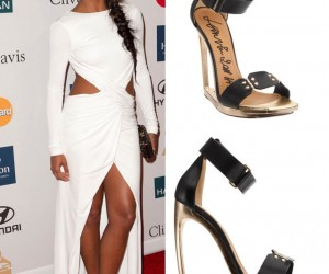 Gabrielle Union in Lanvin Fall 2011 for Pre-Grammy Party