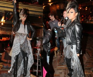 Celeb Style: June Ambrose Brings Out the Biker Chic In TRINArockstarr