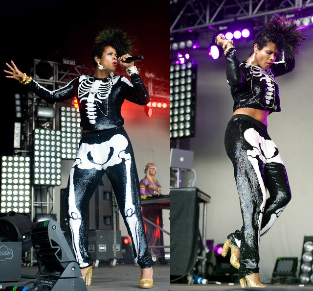 celeb-style-kelis-body-and-sequin-bones-at-lovebox-in-london