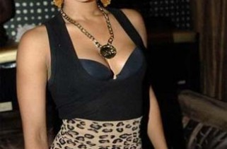 celeb-style-keri-hilson-in-leopard-print-and-gold-chain-lace