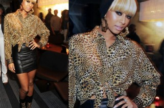 celeb-style-keri-hilsons-mixed-leopard-print-and-chain-lace-looks