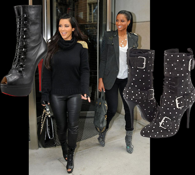 celeb-style-kim-k-and-ciara-do-lunch-military-chic-style