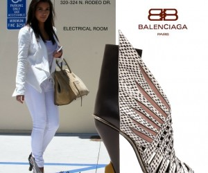 Kim Kardashian Spotted Out and About in Balenciaga