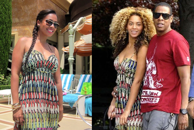 celeb-style-lala-vasquez-and-beyonce-enjoy-the-sun-in-parker-prints