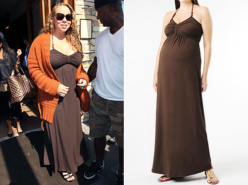 celeb-style-mariah-careys-a-pea-in-the-pod-maxi-dress