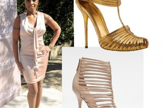 celeb-style-mary-j-blige-in-gucci-gold-inga-strappy-sandals