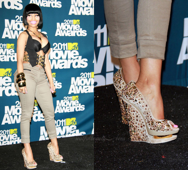 celeb-style-nicki-minaj-in-gianmarco-lorenzi-for-mtv-movie-awards