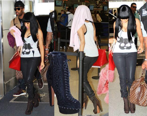 celeb-style-nicki-minajs-azzedine-alaia-miami-airport-swag