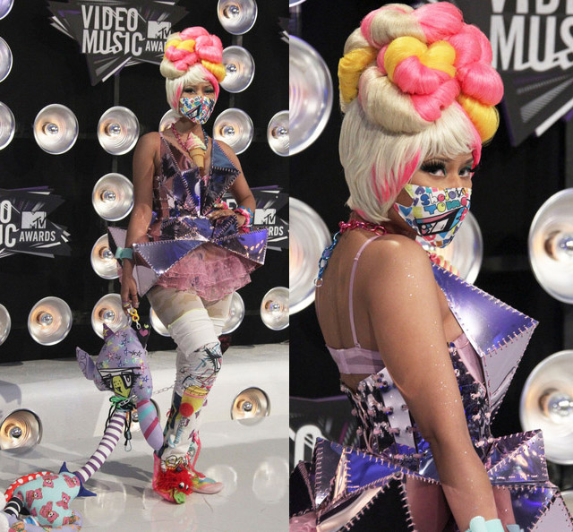 celeb-style-rappers-nicki-minaj-and-lil-mama-rock-amato-haute-couture