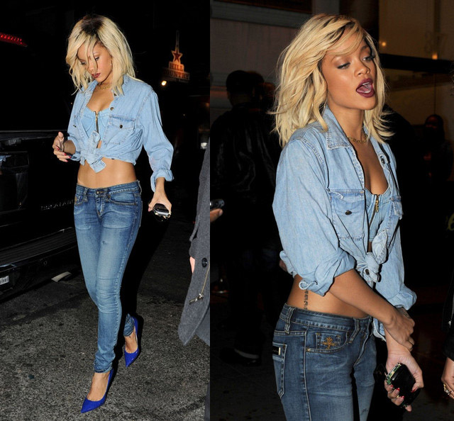 celeb-style-rihanna-roaming-the-streets-of-nyc-in-multiple-denim-looks