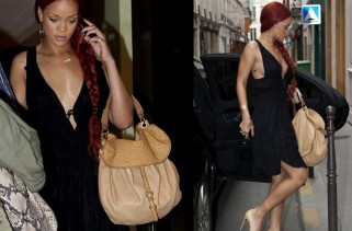 celeb-style-rihanna-steps-out-in-lbd-and-mui-mui-ostrich-skin