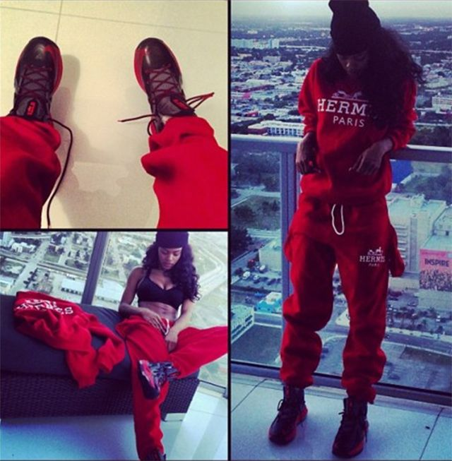 celeb-style-teyana-taylor-sexes-it-up-in-hermes-sweatsuit-and-nikes