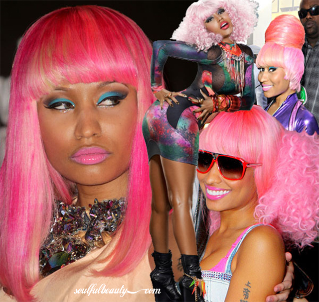 celeb style think pink nicki minaj halloween costume