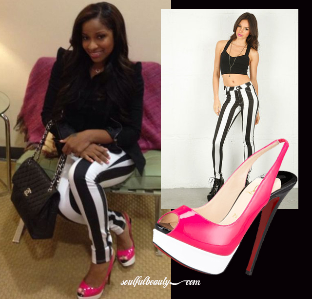 celeb-style-toya-wright-color-blocks-in-jordan-jeans-and-pink-louboutin