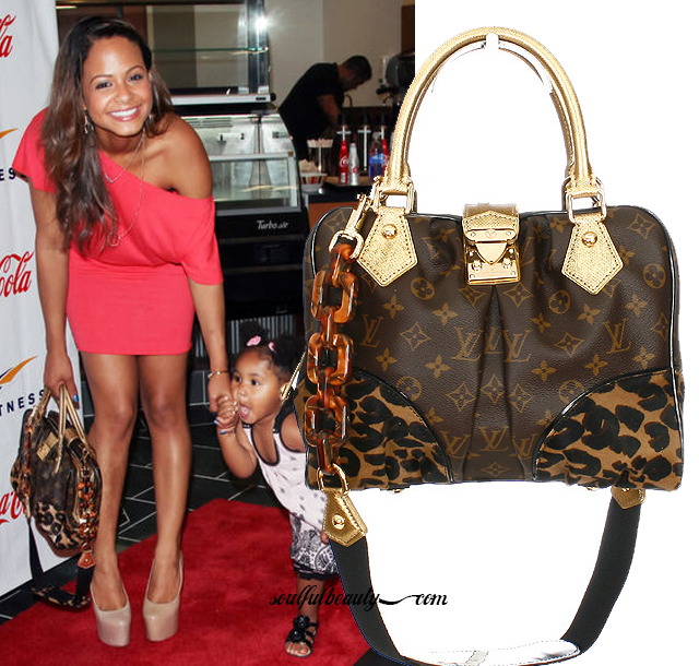 christina-milian-sports-classic-fall-2006-louis-vuitton-leopard-print-handbag