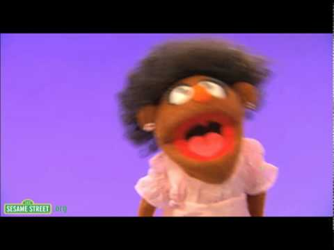 Classic: Sesame Street Muppet Whips Her Hair Back and Forth