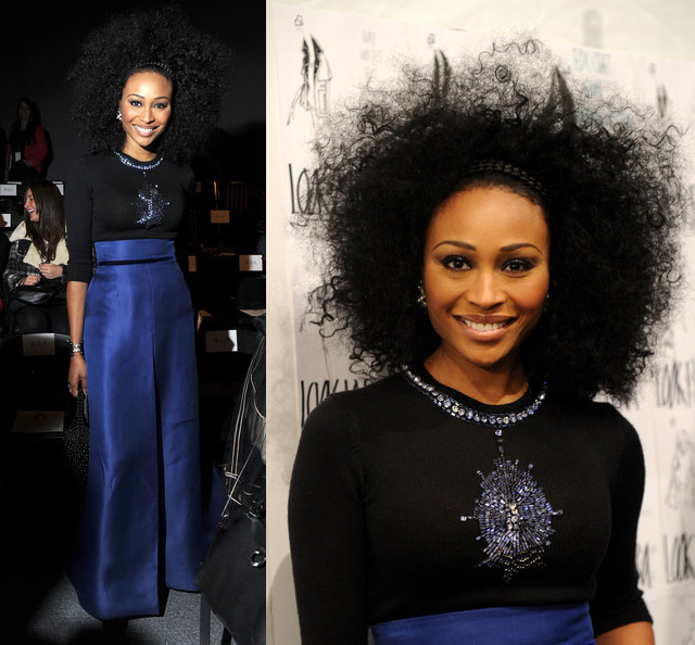 cynthia-bailey-tests-her-natural-beauty-for-new-york-fashion-week-fall-2012