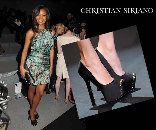 fashion-week-gabrielle-union-backstage-modeling-in-christian-siriano
