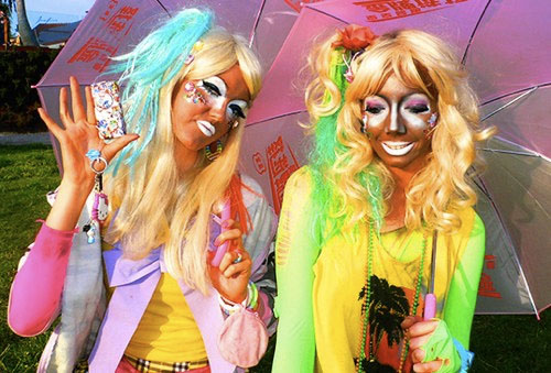 The Ganguro Girls Blackface Fashion Trend Or Racism