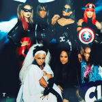 Beyonce, Ciara, Kelly Rowland and Serena Williams