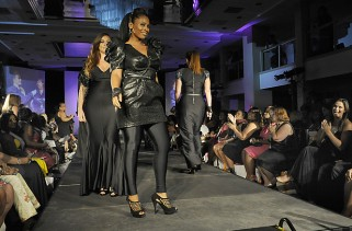 st-plussizeshow:06/19/10: Helayne Seidman FTWP:  New York -  Plus size models for Susan Moses Collection walk the runway during finale fashion show closing Full Figured Fashion Week at midtown hotel.  Freelance Photo imported to Merlin on  Tue Jun 22 09:44:03 2010