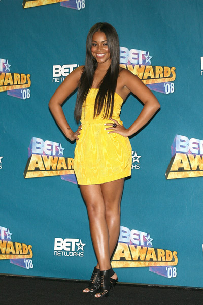 in the press room at the 2008 BET Awards at the Shrine Auditorium on June 24, 2008 in Los Angeles, California.