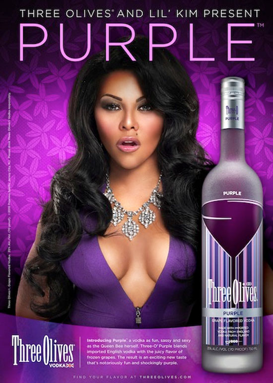 lil-kim-shows-off-her-new-purple-o-face-in-three-olives-vodka-ad