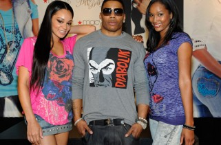Rapper Nelly latest collection from his women's apparel line Apple Bottoms at the Fashion Show mall July 10, 2010 in Las Vegas, Nevada.