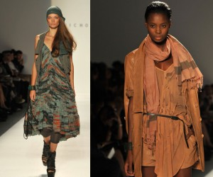 New York Fashion Week Day 1 Brings Tribal Inspirations to The Runway