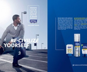 Nivea's New Shaving Products for Men Suggests They Have Issues With Afro's