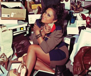 Power 105.1 Angela Yee's Confession of A Shoe Addict in PYNK Magazine