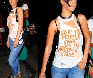 """Rihanna Is Nude in NYC """"And If The People Stare Then The People Stare"""""""