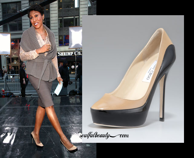 robin-roberts-takes-a-pretty-step-in-two-tone-jimmy-choo-platforms
