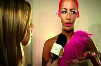 The One Piece of Fur Amber Rose Can't Seem to Break Loose From