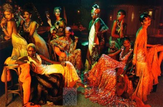 vogue-italias-black-allure-issue-tells-a-retro-tale-featuring-black-models