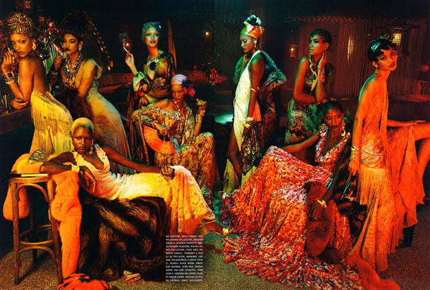 vogue-italias-black-allure-issue-tells-a-retro-tale-featuring-black-models