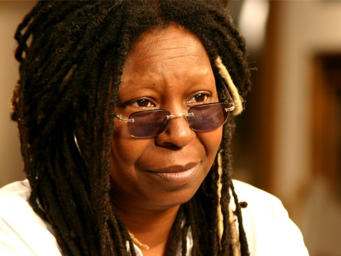 Whoopi Goldberg about glamor: Yes, you look at me Well, how can a star look like that 72